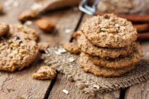 protein oatmeal cookies